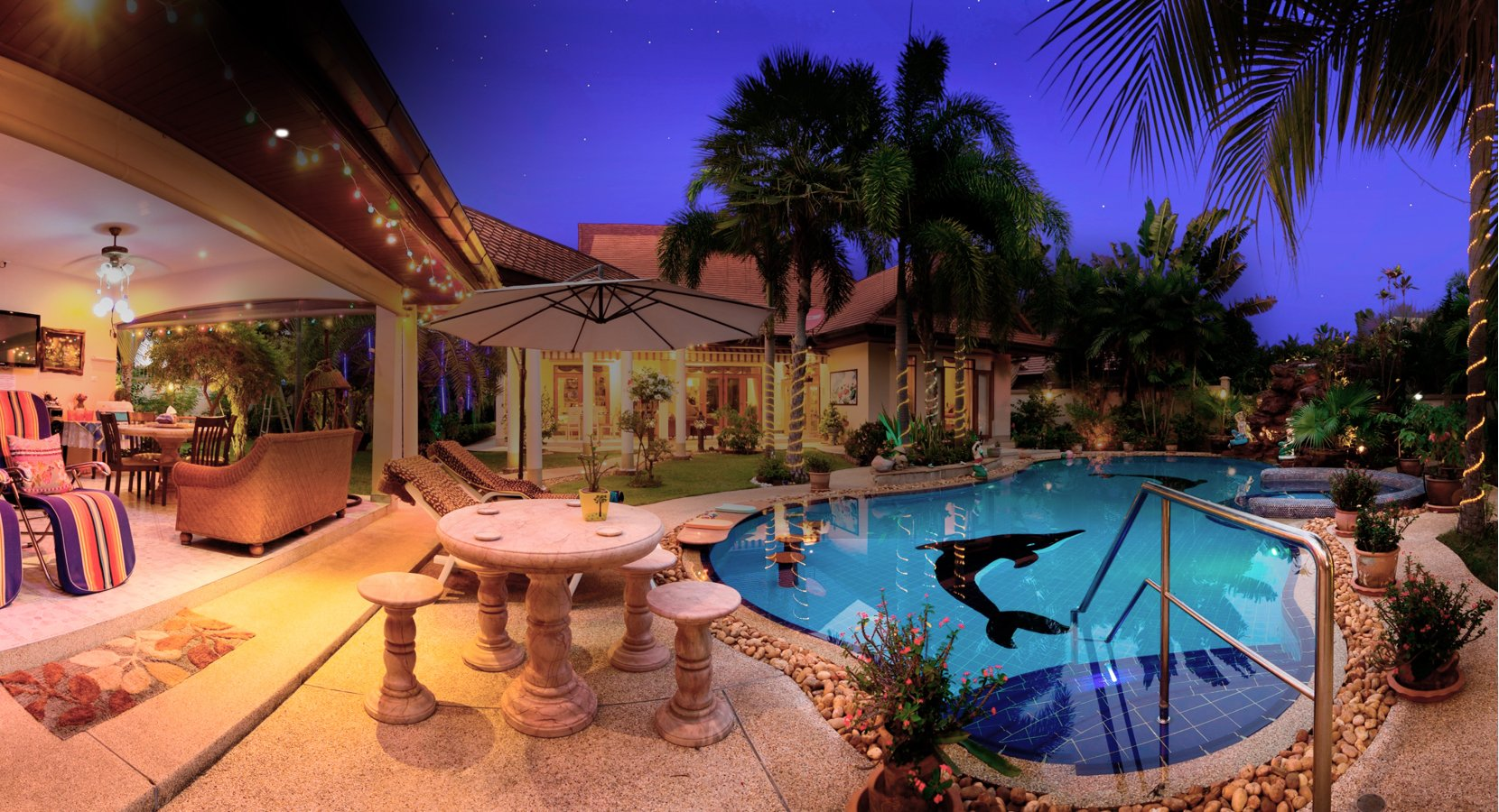 Affordable and Budget Private Pool Villa in Pattaya Thailand